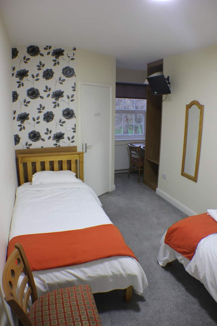 Twin Room at The Fusilier Inn
