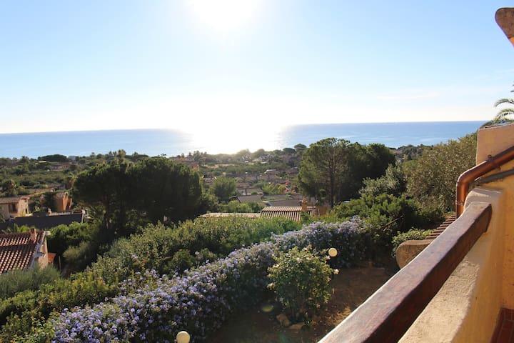 Costa Rei appartamento con splendida vista mare