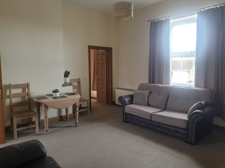 'Private First Floor Flat with parking'