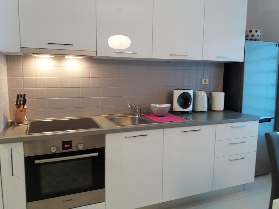 Kitchen - modern, fully equiped