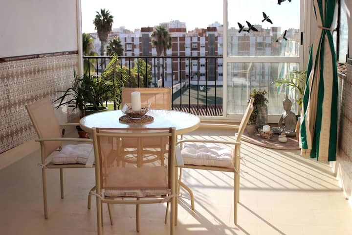 Spanish Penthouse with Open Terrace [Central Town]