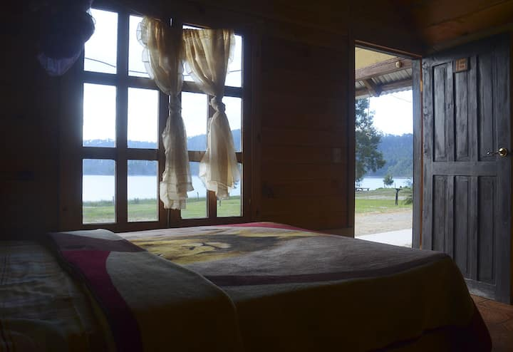 Cabaña en Montebello frente Lago Tziscao 4 pers
