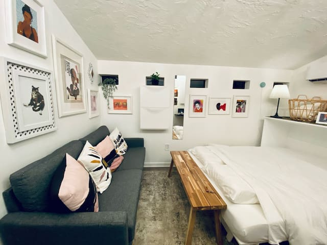 Tiny Home Art Gallery