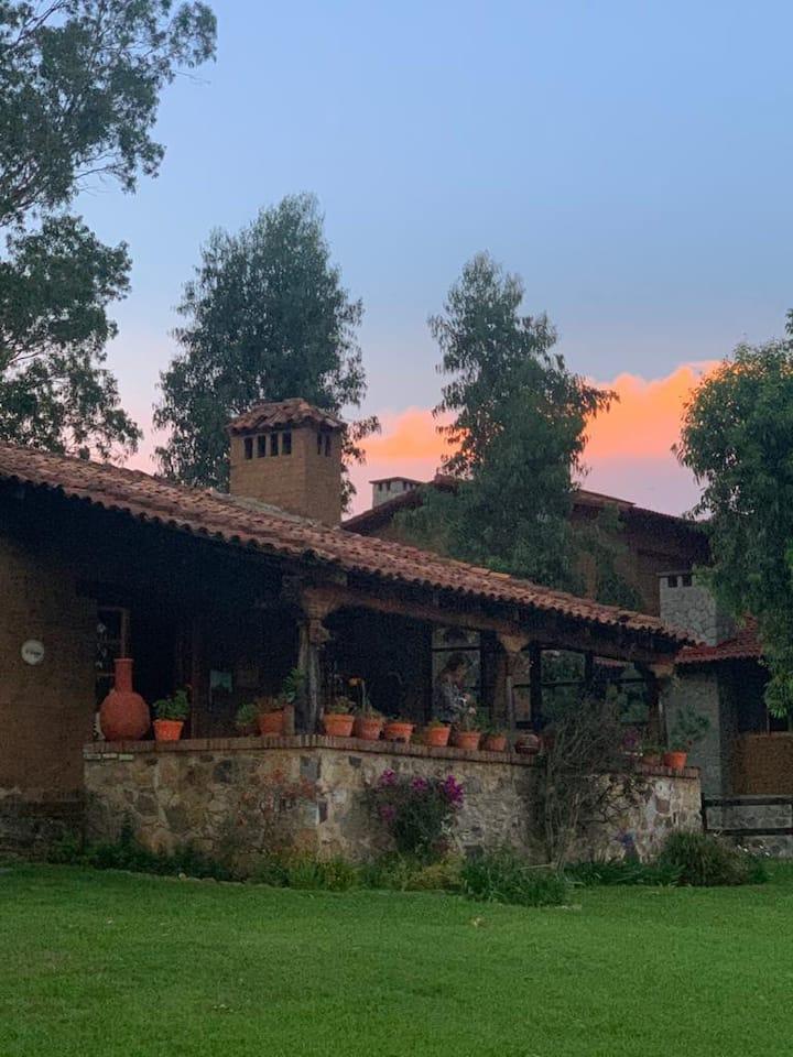Increíble cabaña en Tapalpa Country Club