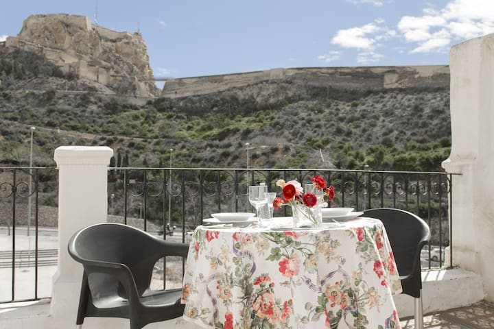 Ático-Casa con impresionante vista