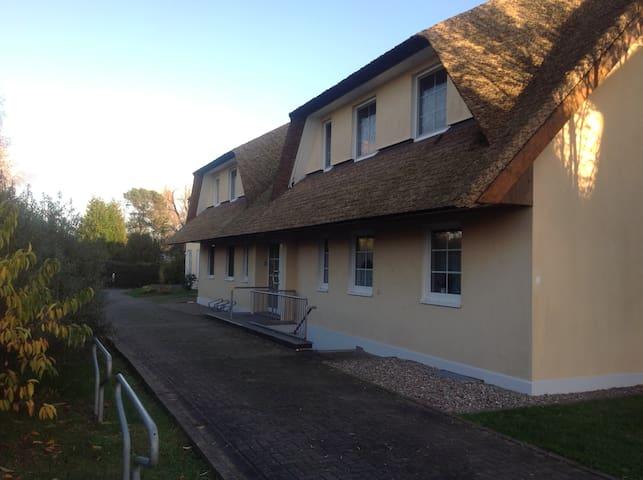 Reedhaus - Boddenblick
