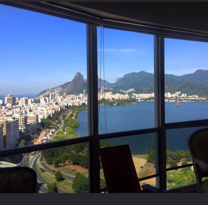 Vista da Sala: Ipanema e Leblon