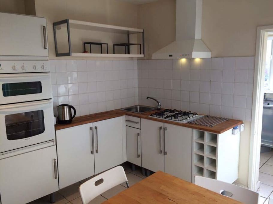 Kitchen Diner with utility room