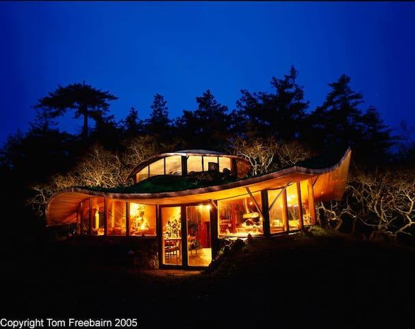 Helliwell Bluffs - Hornby Island - Casa
