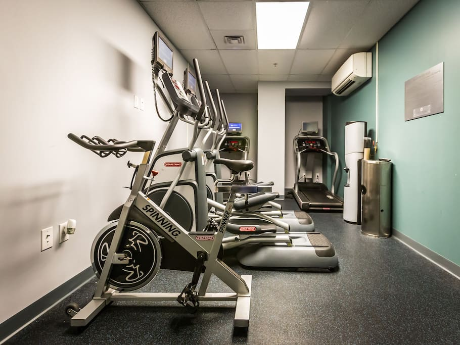 Stay Alfred Philadelphia Vacation Rental Fitness Center