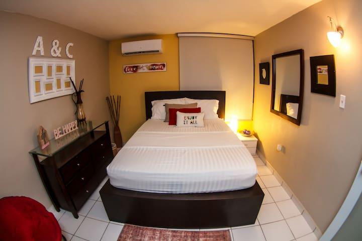 Habitación privada, comfortable y acogedora