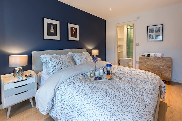 Luxury 6 guests/3 beds/2bath-London-Free parking