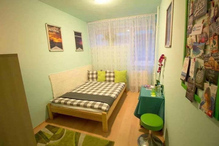 Perfect room in the heart of the city 'Green' - Budapest - Wohnung