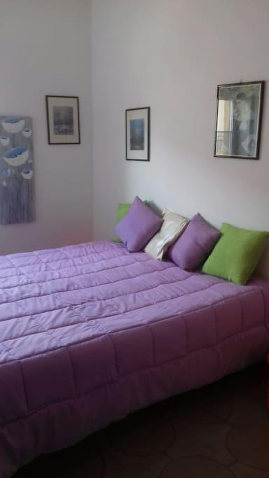 La seconda camera da letto.