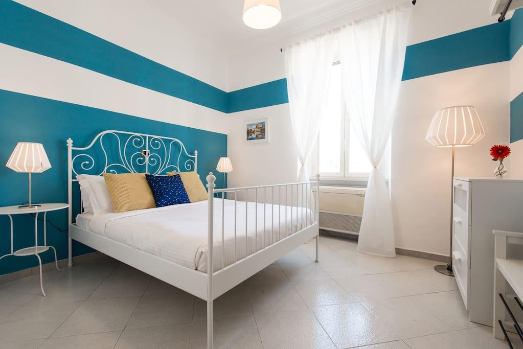 Cosy and colorful flat near termini station appartamenti for Affitto roma termini