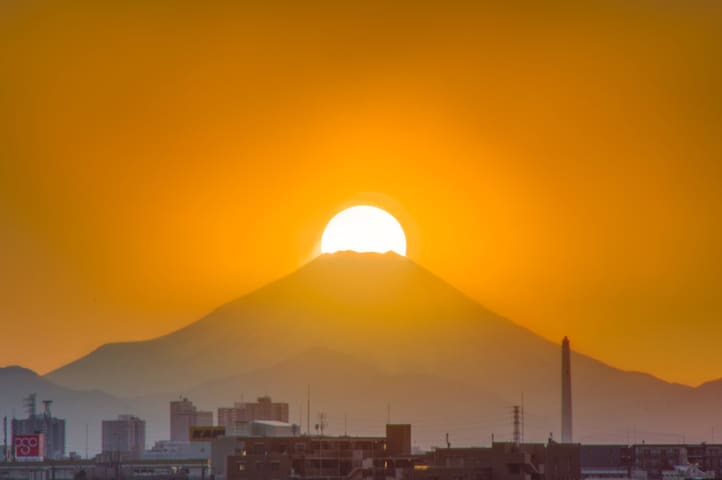 ★Cozy room with Mt. Fuji view #103 - 川口市