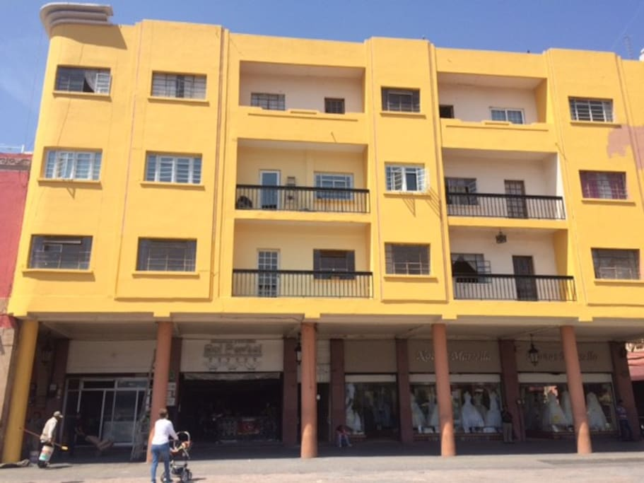 Suites and lofts JOS (Portal Hidalgo #2)