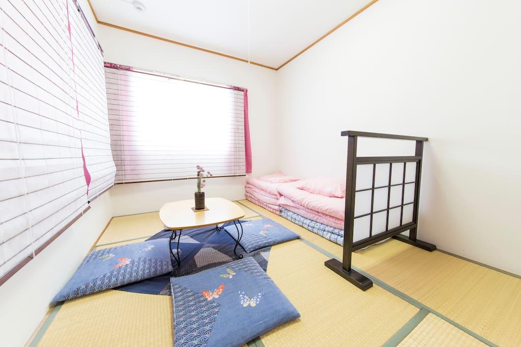 Japanese style bed 'FUTON'