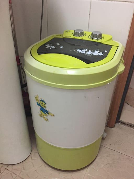 小洗衣机 washing machine!