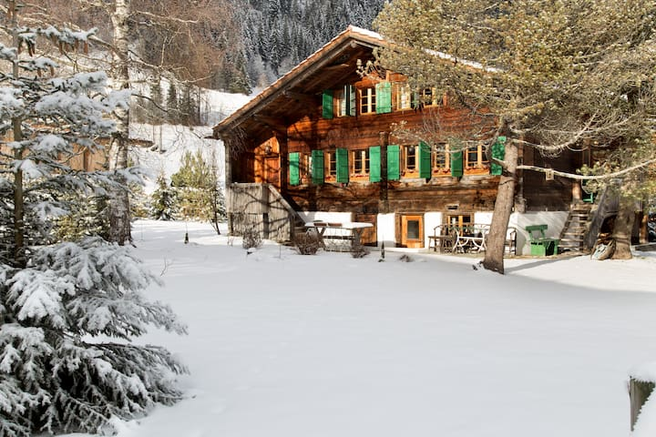 18th century chalet near Gstaad
