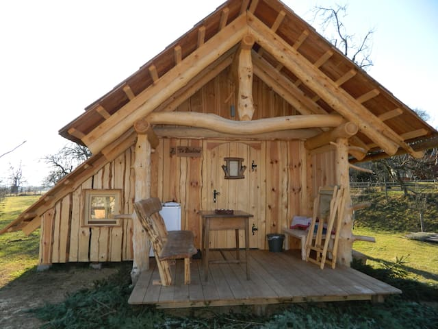 "Family hut glamping organic farm ""Ta Fletna"" - Tržič - Bed & Breakfast"