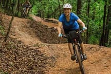 Are you a biking enthusiast? Access to Bentonville and Northwest Arkansas biking trails are just a few hundred yards from your place!