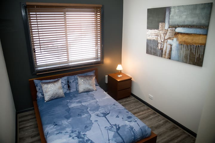 Spacious Bedrooms comes with a wardrobe and plenty of powerpoints  Linen bed sheets are provided for all Beds