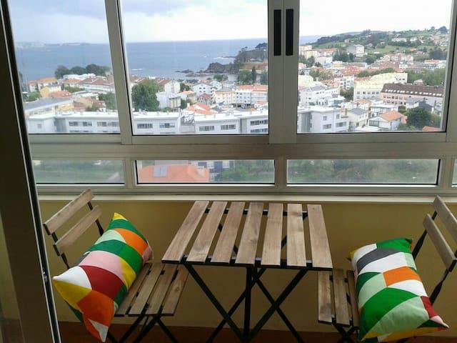Piso Santa Cruz a 15 min de Coruña - Oleiros - Appartement en résidence