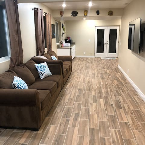 Newly finished basement w/ private entrance