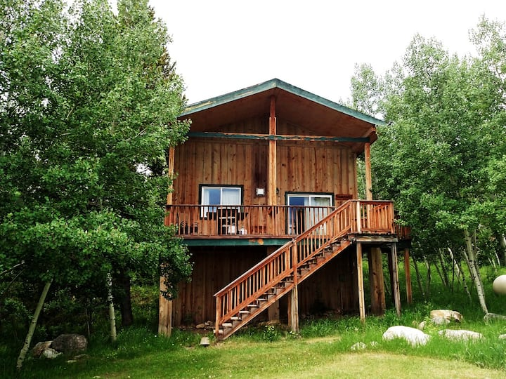 The Durango Cabin at the Snowy Range