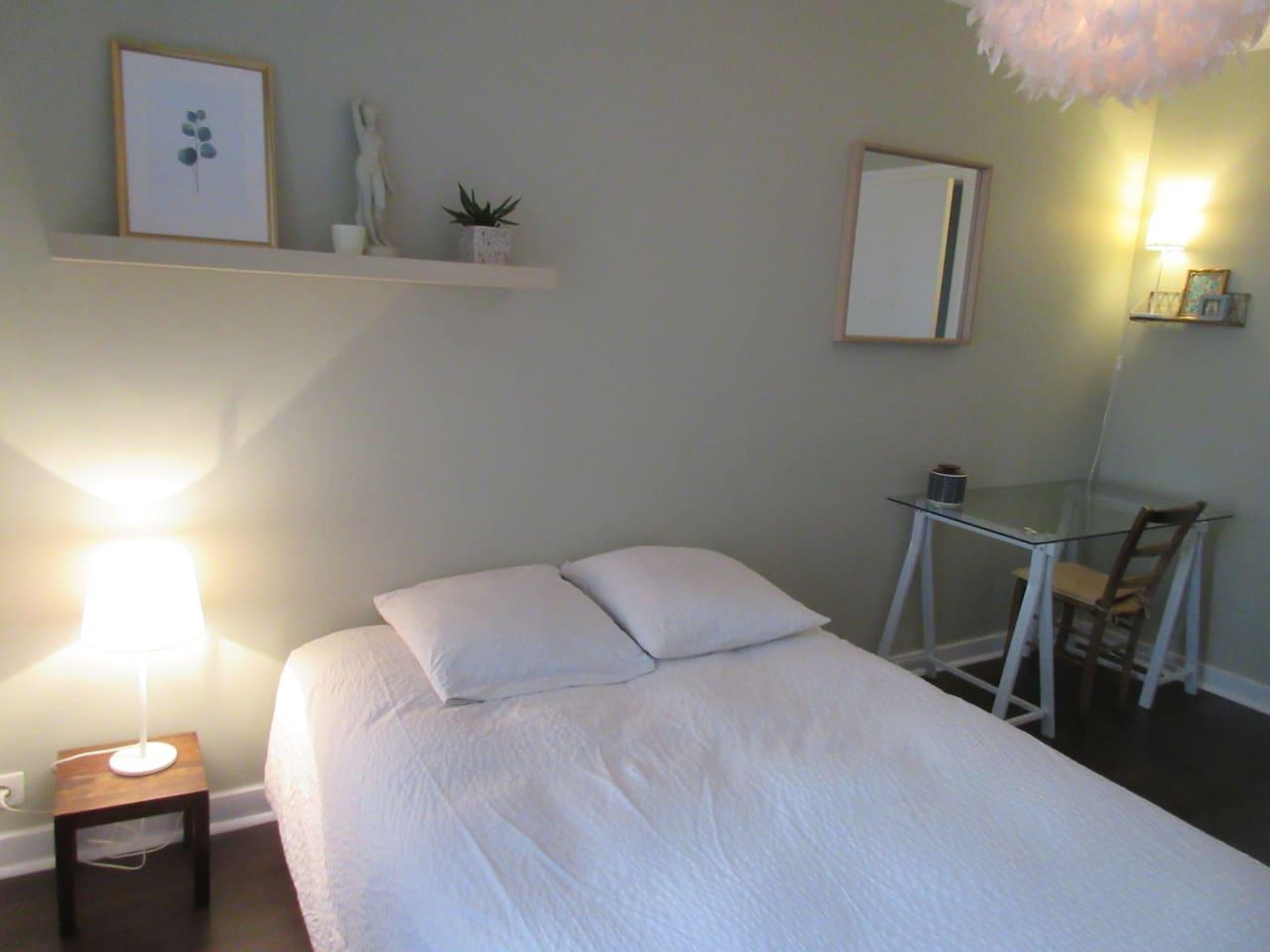 La chambre zen (Deux lits séparés possible sur demande)