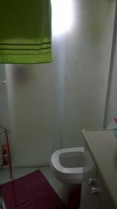 Banheiro em comum