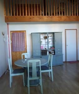 Beau studio avec mezzanine près de Fontainebleau - La Genevraye - Hus
