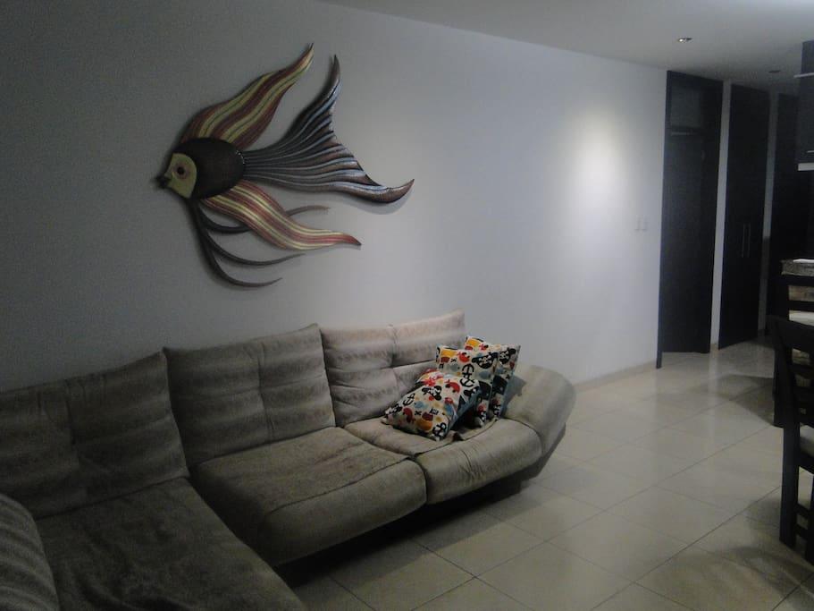 Sala del departamento