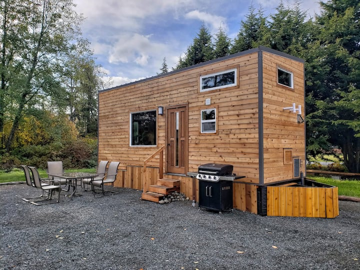 Campbell River Wood Tiny Home