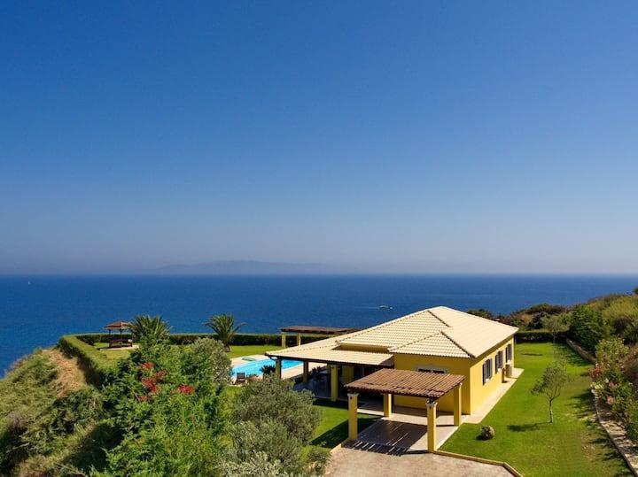 Villa Hephaestus , Spartia, Kefalonia