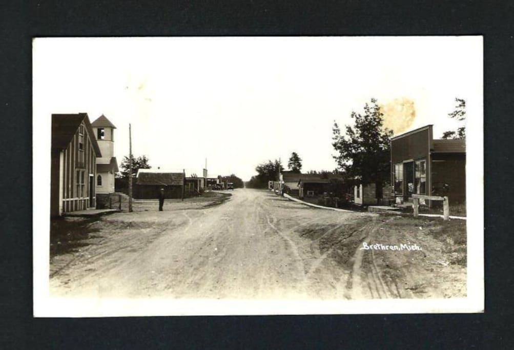Store on the right is our house shortly after 1928
