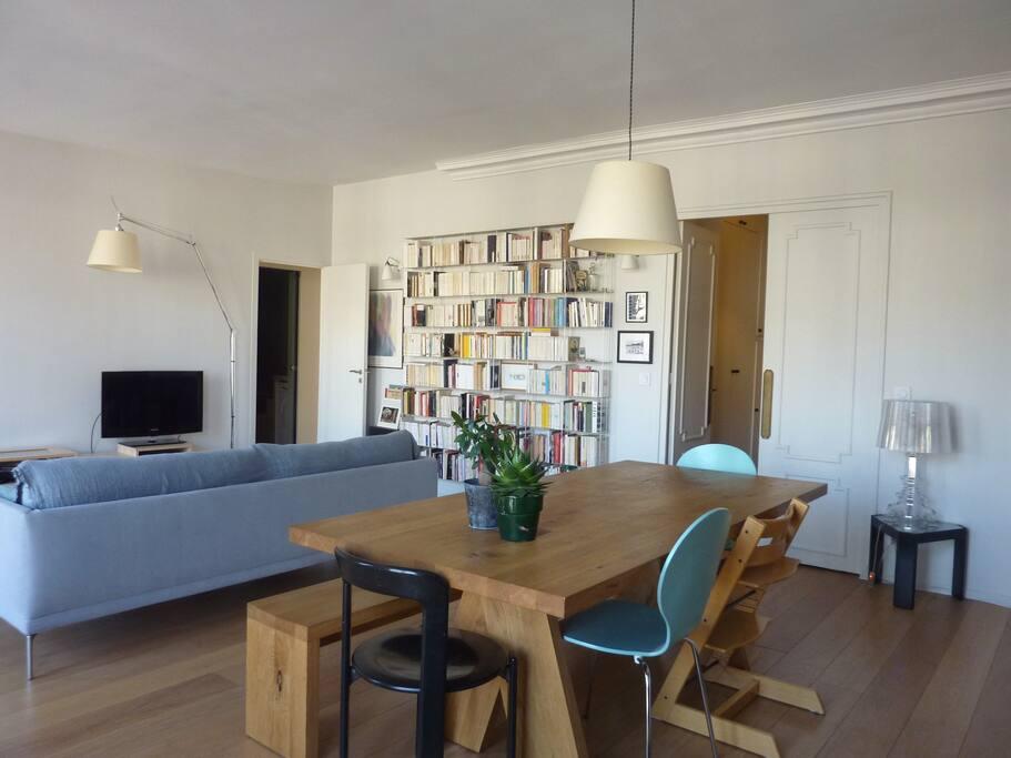 Sunny living-room.