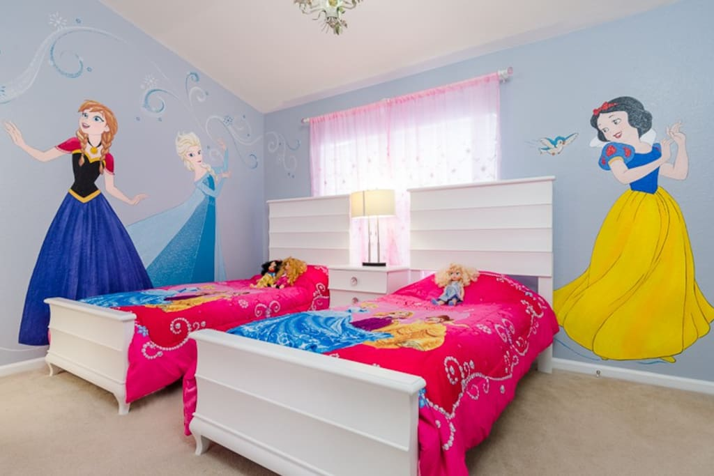 princess  room perfect for your little girl