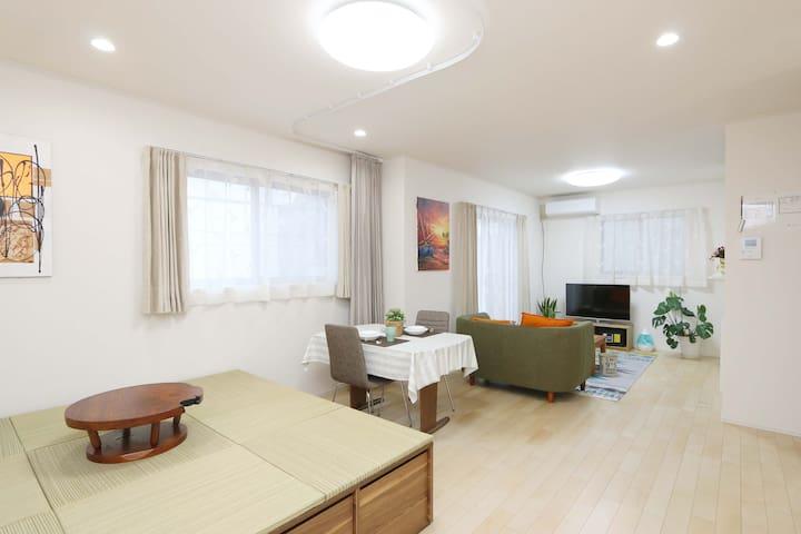 Dream House 舞松原 Spacious 4 Bedrooms /Max 10people