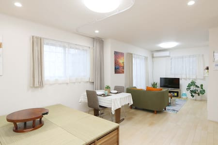 Dream House 舞松原 Spacious 4 Bedrooms /Max 10people