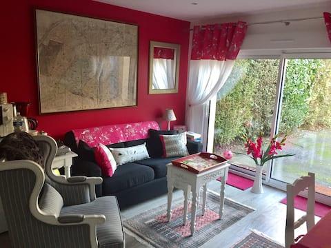 Acogedor apartamento cerca de Rouen