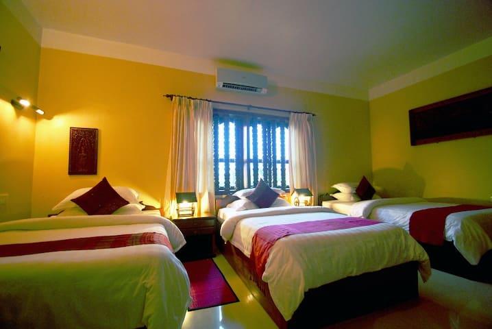 Delightful Triple Room in Angkor - Krong Siem Reap - Apartament