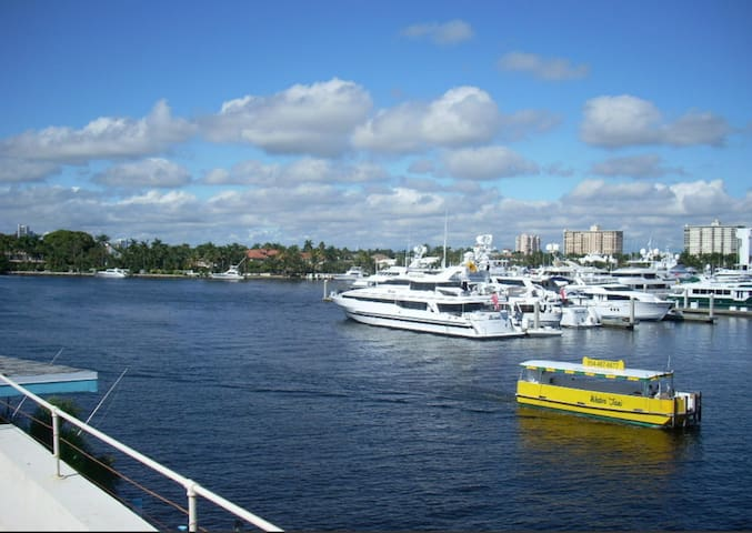 Gorgeous sunny pad; beach front; steps to Las Olas - Fort Lauderdale - Apartment