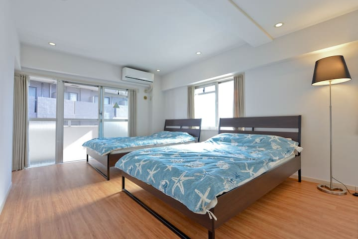 Shinagawa,JR/Metro Gotanda stn. grand family room7 - Shinagawa-ku - Bed & Breakfast