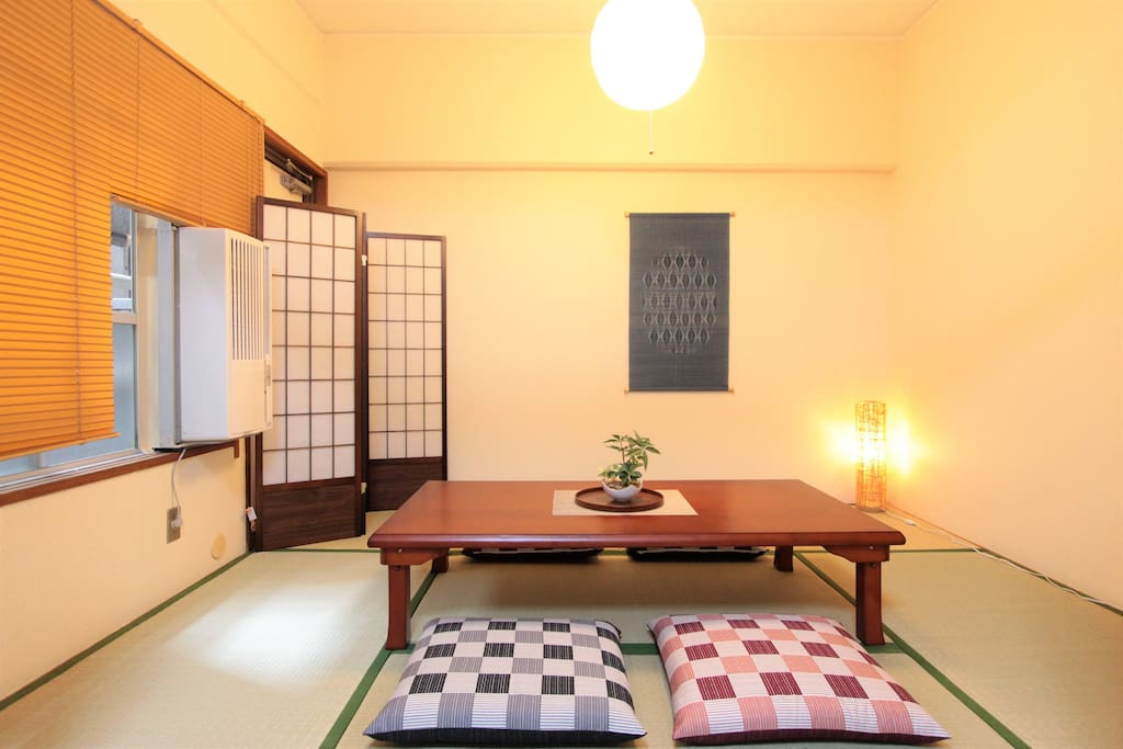 Tatami room for your comfortable time