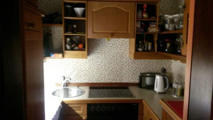 Nice, cosy apartment with garden near Messe