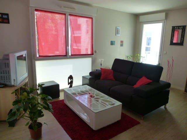 Chambre particulière dans appartement tout équipé - Trélazé - Apartemen