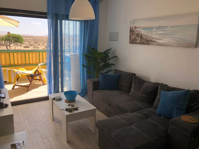 Relaxing Apartment Overlooking Dunes, Near Beaches
