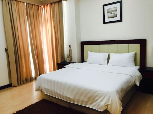 One bedroom furnished apartment with all service